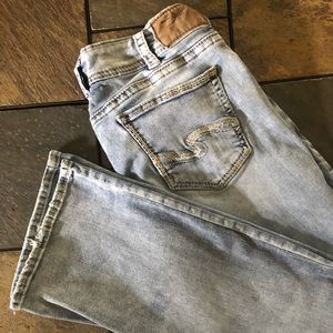 Silver Elyse blue jeans